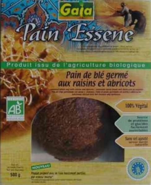 Essenerbrot aus Weizen mit Mandeln, 500g, Bio