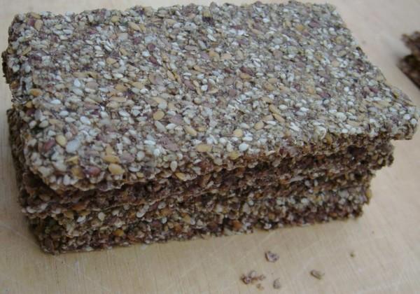 Saat` Ess Brot Protein mit Hanf und Thymian, Bio, Roh