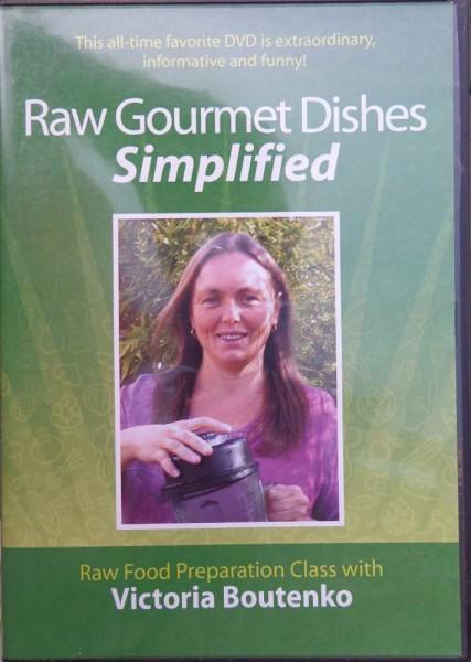 Raw Gourmet Dishes. Boutenko, englisch DVD