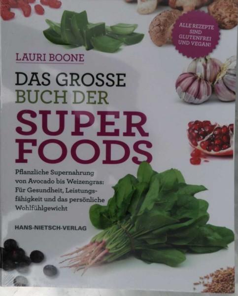 Das grosse Buch der Superfoods, L. Boone