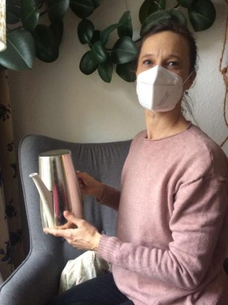 FFP2 Schutzmaske, weiß , Stück