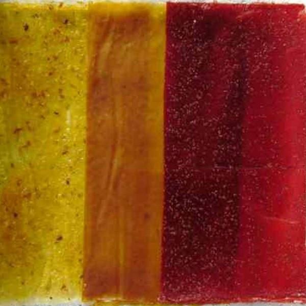 Fruitleather, Fruit- Leather, Fruchtpapier roh, versch. Sorten, Roh bio
