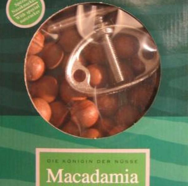 Set Macadamianuß Knacker + 500g rohe Nüsse