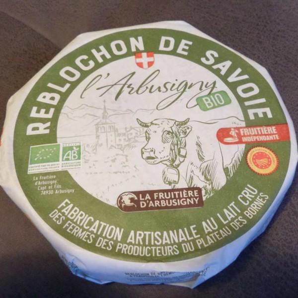 Reblochon Bio-Rohmilchkäse von der Kuh, ca. 450g